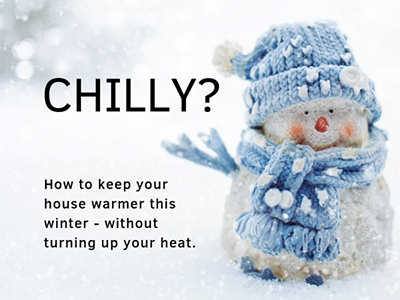 Baby, it's cold outside: how to save energy and keep warm this winter   Smarter House